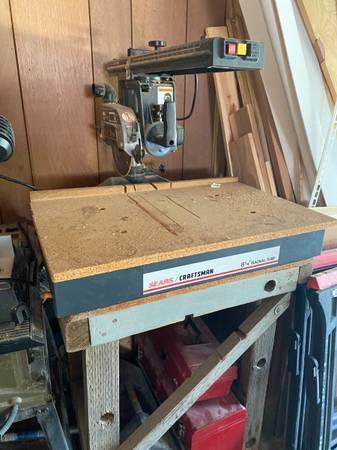 Photo Sears Craftsman 8 14 Radial Arm Saw - $125 (Washington Park)