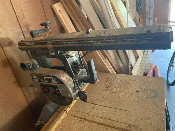 Photo Sears Craftsman 8 14 Radial Arm Saw - $200 (Washington Park)