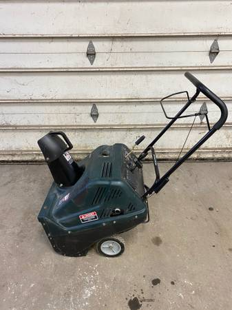 Photo USED CRAFTSMAN SNOW BLOWER (Lincoln IL) - $250 (LINCOLN)