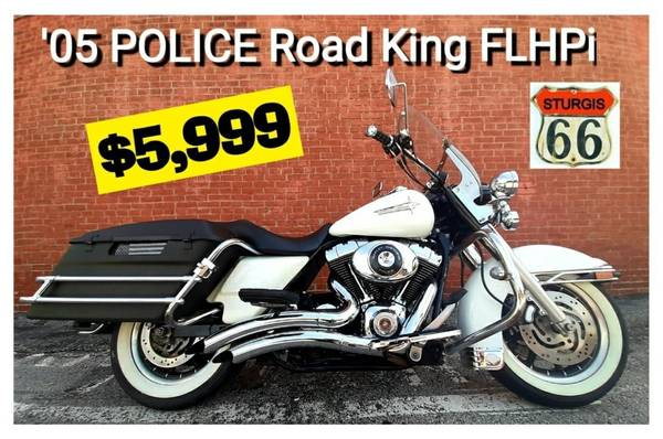 Photo 2005 Harley Davidson POLICE Road King  FLHPi - $5,999 (O39fallon, MO)