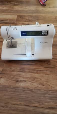 Photo fixer parts pe-150 brother embroidery machine - $75 (Modesto)