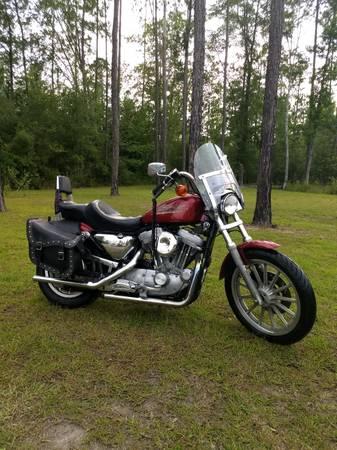 Photo 1999 Harley Sportster 883 - $3,600 (Glennville)