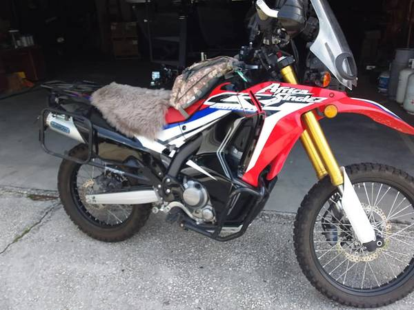 Photo 2017 Honda Rally. CRF 250L w ABS Fully Kitted out. - $7,000 (Brunswick)