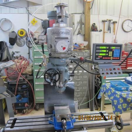 Photo Bridgeport Series 1 Vertical Milling Machine - $6,800 (JOHNS ISLAND)