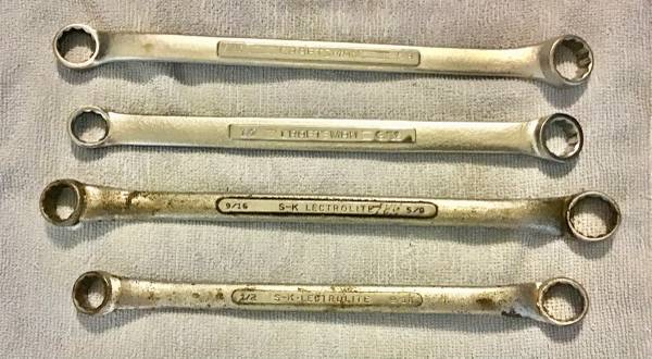 Photo Craftsman Dual Box End Wrench 916 X 58 Inch 12 Point Nickel Chrome - $12 (North Augusta, SC)