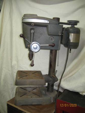 Photo Craftsman KING-SEELEY 15quot Drill Press, Model 103.23130 - $500 (Perry, GA)