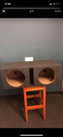 Photo Empty Skar Audio Dual 12 Subwoofer Enclosure - $100 (Statesboro)