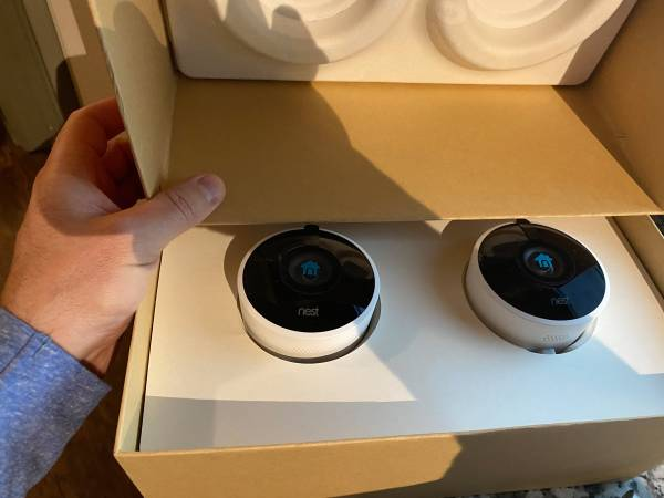 Photo Google - Nest Outdoor Cams - 2 pack - NEVER USED - $250 (Daniel Island)