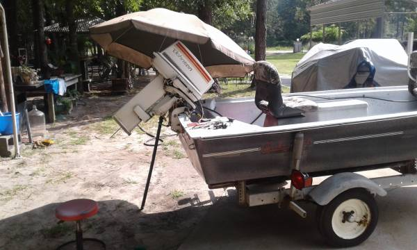 Photo I buy used boats, Motors, trailers at fair prices - $1 (Black creek)