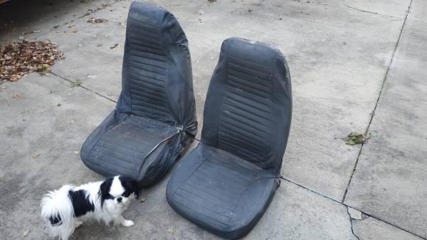 Photo Jeep Seats from 1976 CJ5 (Brunswick)