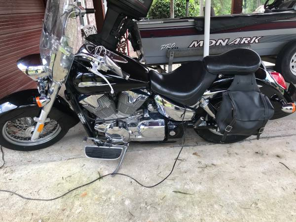 Photo Motorcycle for sale low miles - $4,500 (Augusta)