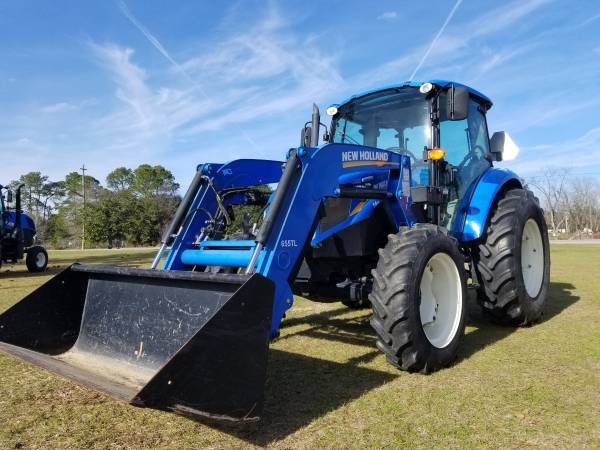 Photo New Holland T4.75 Tractor - $33000 (Metter, GA)