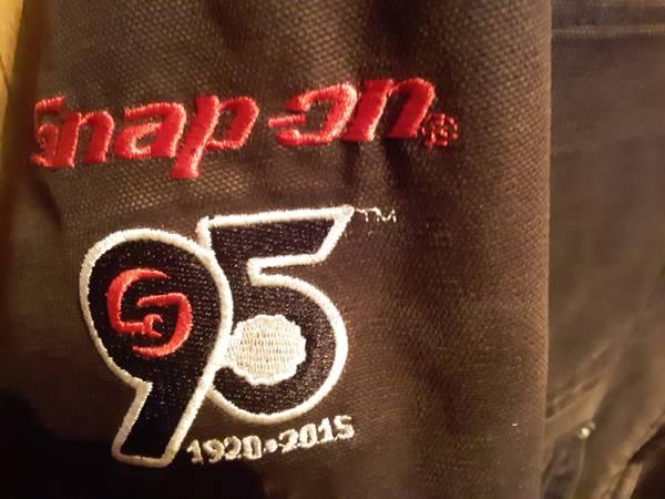 Photo Snap on tools mens large black jacket - $30 (Moncks corner)