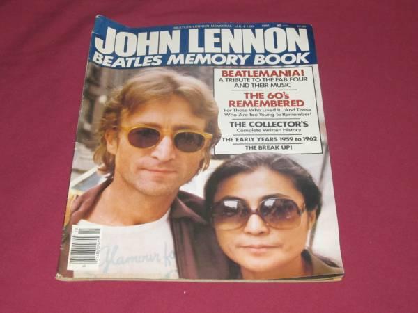 Photo VTG 1981 Magazine John Lennon Beatles Memory Book - $10 (MACON)