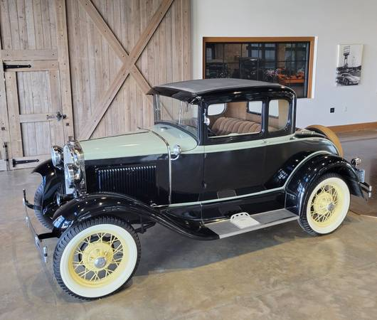 Photo 1930 Ford Model A Coupe - $26,000 (St. Augustine)