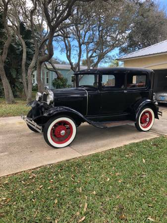 Photo 1930 Model A Ford 2 Door - $10,500 (St. Augustine)