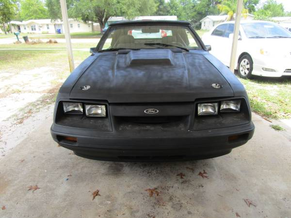 Photo 1984 Mustang Gt Convertible - $2,500 (St Augustine)