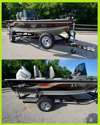 Photo (2003 )lund 1775 proV boat with trailer hunting for a fresh owner.. - $1,400 (st augustine)