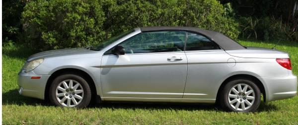 Photo 2008 Chrysler Sebring Chrysler Convertible - $4,500 (St Augustine)