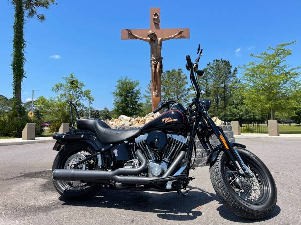 Photo 2008 Harley-Davidson Softail Crossbones Springer - $11,995 (Jacksonville)