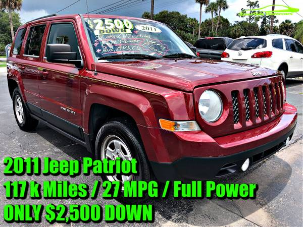 Photo 2011 Jeep Patriot w117k BUY HERE PAY HERE100CARSEVERYONE APPROVED - $2,500 (RiverSide Motorcars)