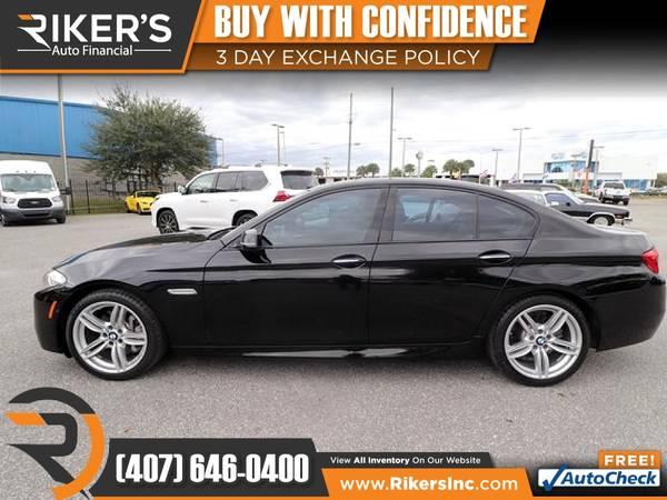 Photo $239mo - 2014 BMW 5 Series 535i 535 i 535-i xDrive AWD - 100 Approved - $239 (Rikers Auto Financial)