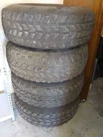 Photo 3712.5016.5 Tires on 8 Lug Aluminum Rims - $500 (St Augustine)