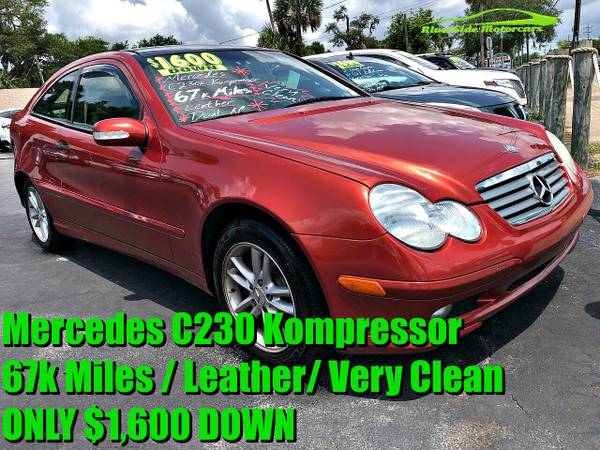 Photo 67k mi. Mercedes C230 BUY HERE PAY HERE100CARSEVERYONE APPROVED - $1600 (RiverSide Motorcars)