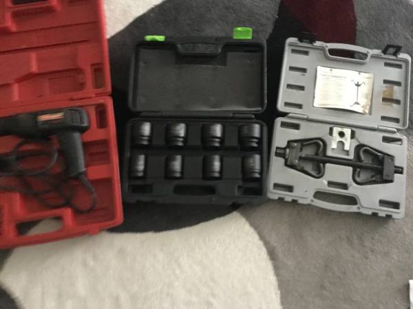 Photo Craftsman Drill,Pittsburgh socket set Spring Compressor - $25 (Saint Augustine)
