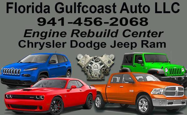 Photo Dodge Jeep Chrysler Ram Engines Rebuild  Repairs (We Finance Engines)