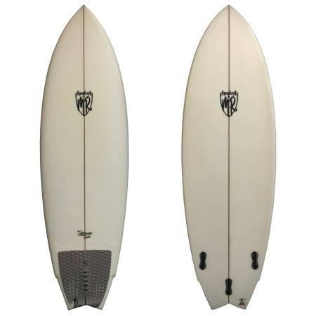 Photo Lost x MR California Twin 53911 x 21.25 x 2.63 (36.5L) Used Surfboard - $500 (surf station 2)