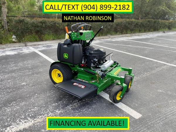 Photo NEW John Deere 636M Commercial Stand-On Mower - $7,099 (CALL OR TEXT NATHAN (904) 899-2182)