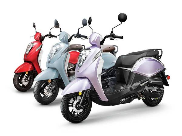 Photo NEW SYM quotMIO 50quot SCOOTER ( quality scooter) (SOLANO CYCLE)