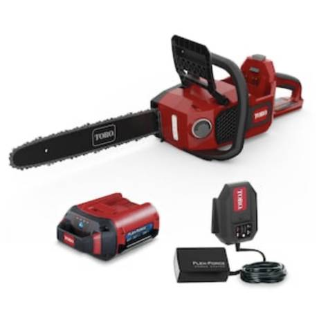 Photo NEW Torro Flex Force 16 60V Lithium Ion Battery Power Chainsaw - $180 (Windward Ranch)