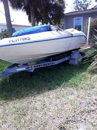 Photo Seadoo boat and trailer - $2,500 (Saint Augustine)