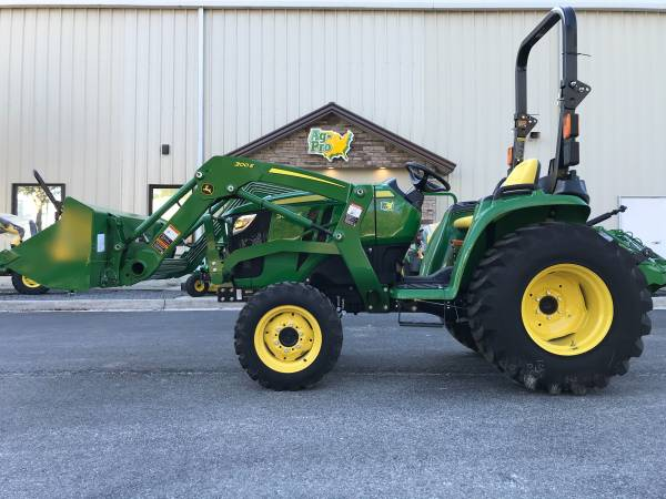 Photo TERRY (904) 460-4895 JOHN DEERE 3038E TRACTOR WITH LOADER - $26,199 (Call TERRY (904) 460-4895)