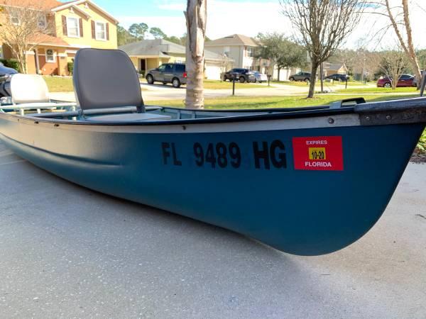 Photo Titled and Registered Flat Back Coleman Scanoe - $700 (Saint Augustine)