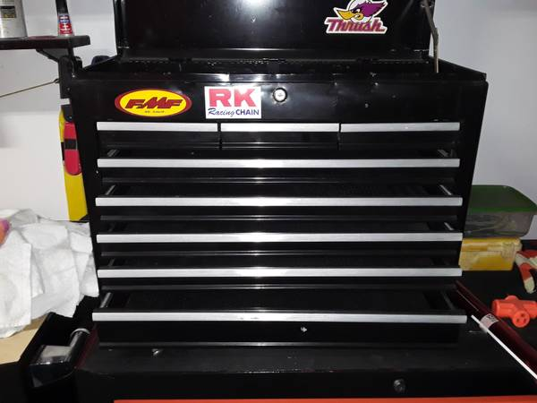 Photo Tool boxes- US General bottom Craftsman top - $185 (st augustine)