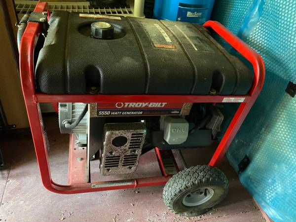 Photo Troy Built 5500 Watt Generator - $350 (St Augustine)
