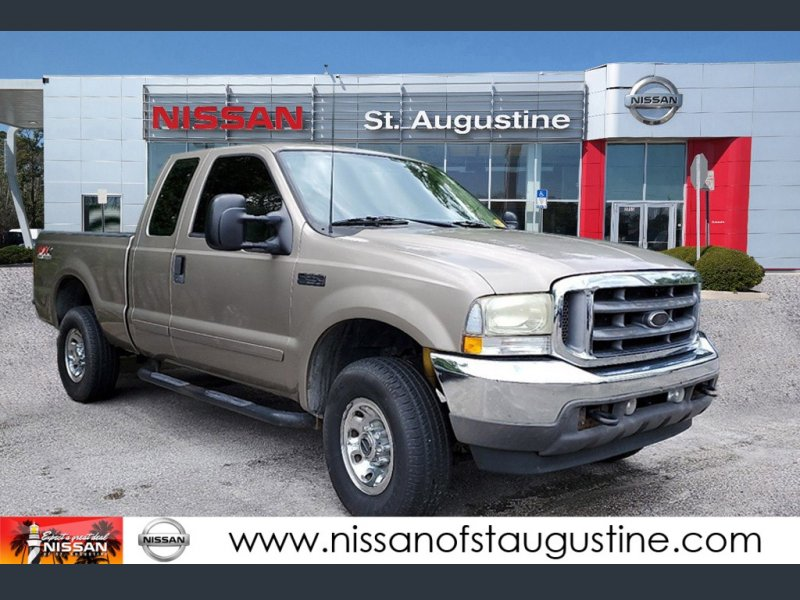 Photo Used 2003 Ford F250 4x4 SuperCab Super Duty for sale