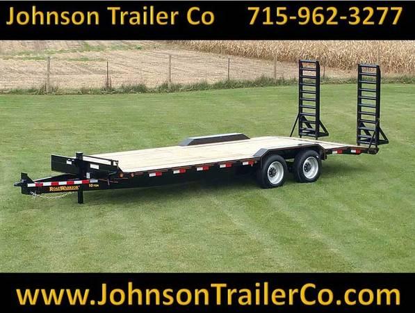 Photo 102quot x 2439 Road Warrior 10-Ton EquipmentSkidsteer Trailer - $8,325 (Colfax, WI)