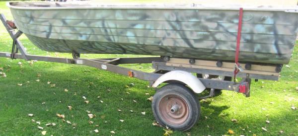 Photo 14ft Mirrocraft Duck Boat - $200 (Willmar)