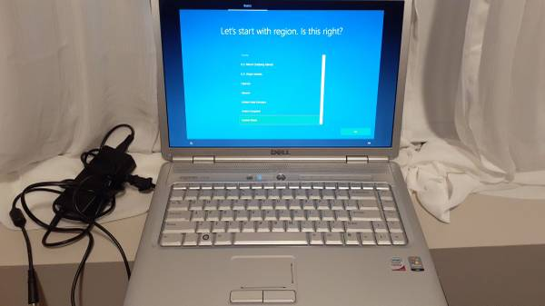 Photo 15 inch Dell laptop inspiron 1525 ssd win 10 - $119 (plymouth)
