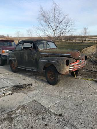 Photo 1947 Ford coupe with title - $1,000 (Eden Valley)