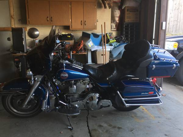 Photo 1990 Harley Davidson ultra classic Electra glide for sale - $4,700 (Northeast Minneapolis)