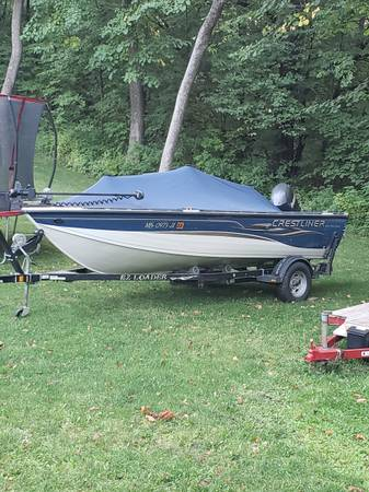 Photo 2005 Crestliner Fishhawk 1650 - $8,900 (paynesville)