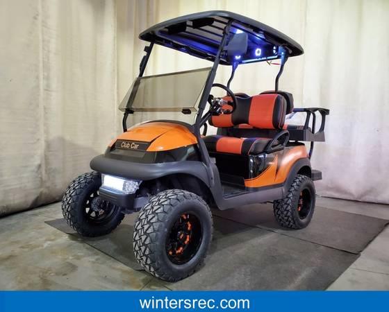 Photo 2018 Club Car Precedent Electric DELUXE STREET READY BAZOOKA Golf Car - $7895 (Sauk Centre)