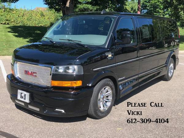Photo 2018 GMC Savana 2500 4X4 Explorer 9 Pass Conversion Van One Owner - $39,995