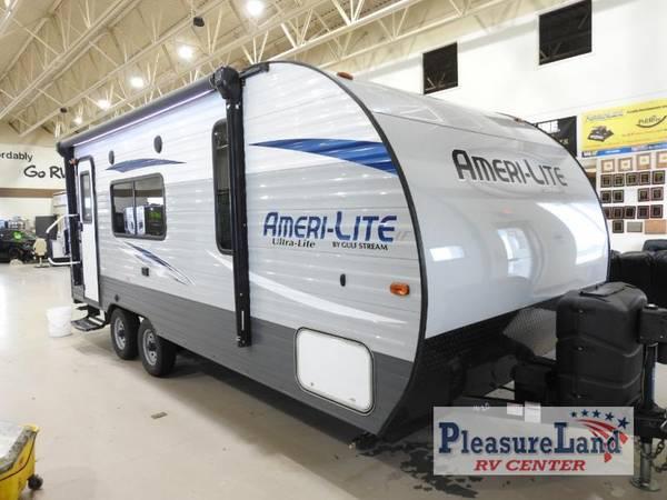 Photo 2018 Gulf Stream Ameri-Lite Ultra Lite 218MB - Pleasureland STC Budget - $13,999 (Pleasureland RV St Cloud Budget Lot)