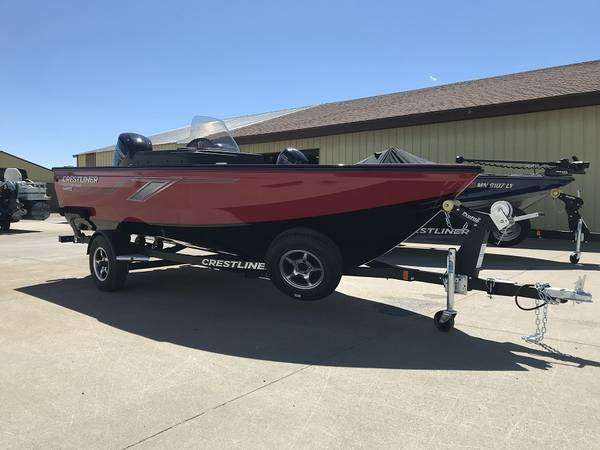 Photo 2020 Crestliner 1650 FishHawk 90hp Mercury - $25,817 (Nathes Marine  Sport Center)